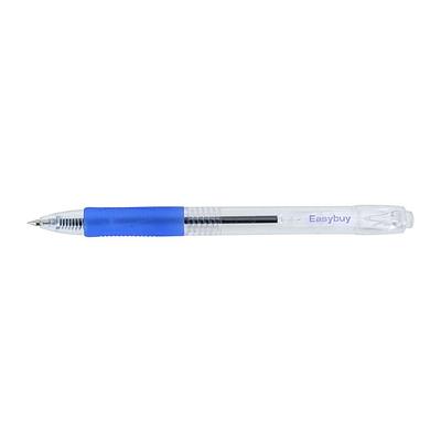 易优百 0.5mm按动式圆珠笔 (蓝) 10支/盒 0.5mm  EB0621