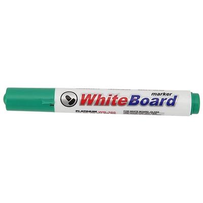 白金 白板笔 (绿) 10支/盒  WB-300