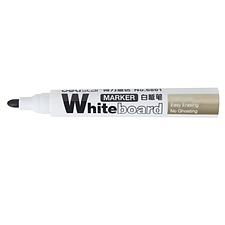 得力 白板笔 (黑)  6801