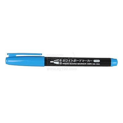 白金 1.0mm白板笔 (蓝) 1.0mm  WB-100A