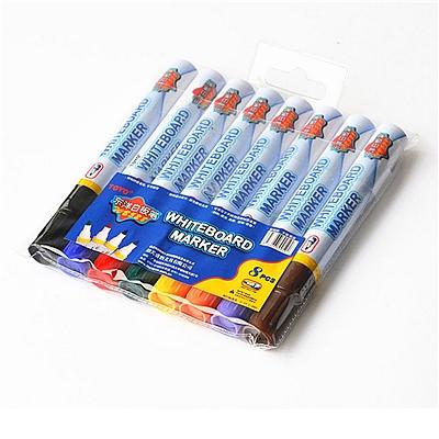 东洋 彩色白板笔 (8色) 8色/套  WB-528
