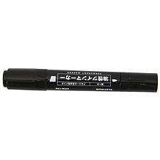 白金 大雙頭記號筆 (黑) 10支/盒  CPM-150