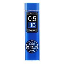 派通 Ain高聚物活动铅芯 0.5mm/HB 40根/管  C275-HB