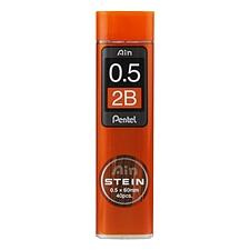 派通 Ain高聚物活动铅芯 0.5mm/2B 40根/管  C275-2B