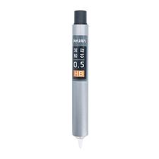 得力 按动式活动铅芯 (混色) 0.5mm/HB 20根/管  S492