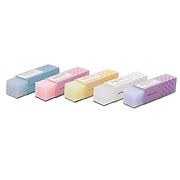 国誉 淡彩曲奇系列彩色半透明橡皮 (混色)  WSG-ERC1