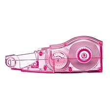 普乐士 PLUS智慧型滚轮修正带替芯 (玫红) 5mm*6m  WH-635PR