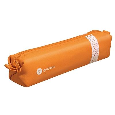 国誉 GRACIEUX笔袋 (橘)  F-VBF118YR