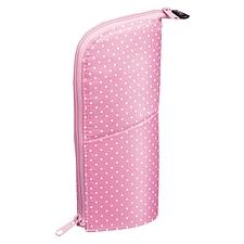 国誉 NEO CRITZ直立式笔袋 (粉红圆点)  F-VBF180-5