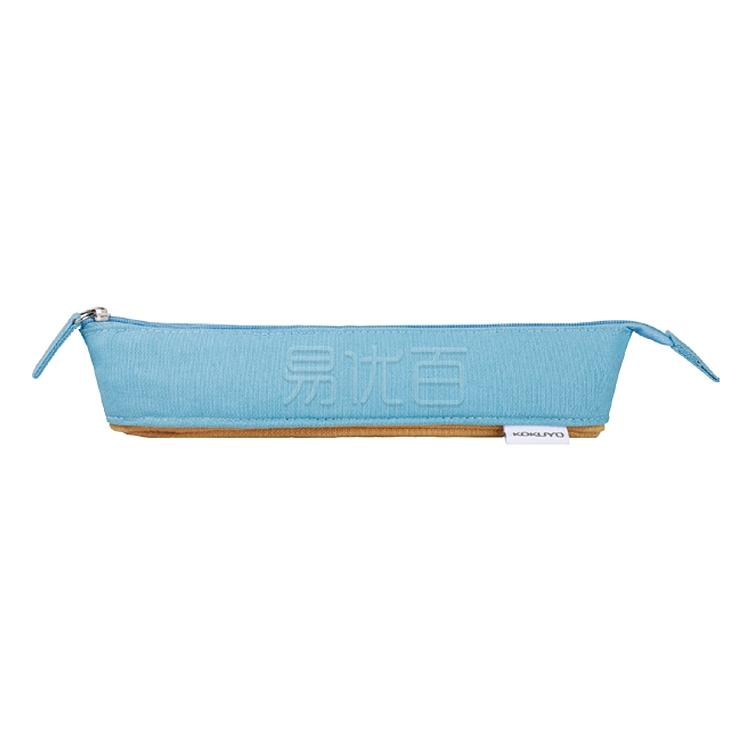 國譽 NOVITA-Oli筆袋 (藍黃) 中號  WSG-PC121-3