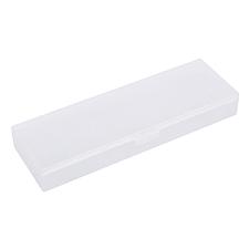 國譽 可調式PP筆盒 (透明) 中號  WSG-PCJ102T