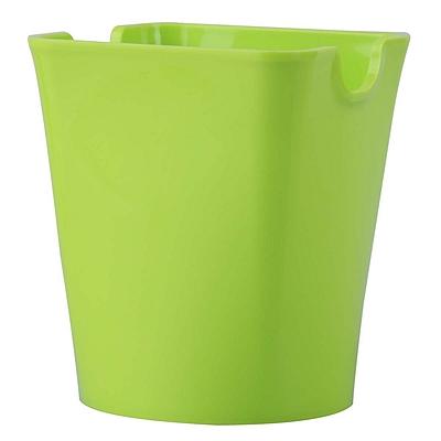 优和 笔筒 (绿) 方形  6904