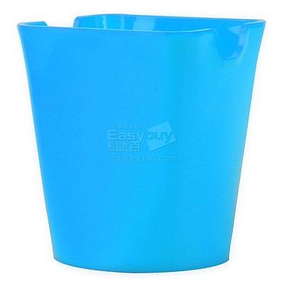 优和 笔筒 (蓝) 方形  6904