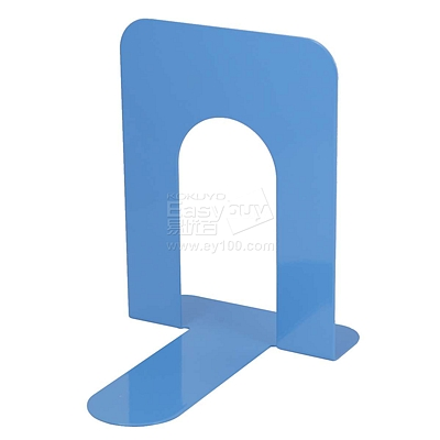 得力 铁书立 (蓝) 7.5寸  9262