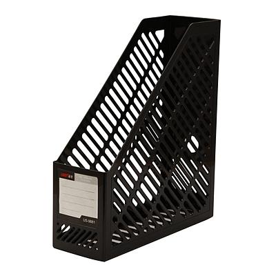 远生 资料架 (黑) A4 单格  US-9881