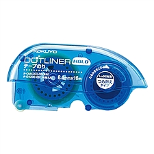 国誉 夹纸式双面粘胶带替芯 (蓝) 16m*8.4mm  TA-D4200-08