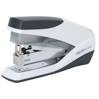 得力 省力手持型订书机 (混色) 20张  0368
