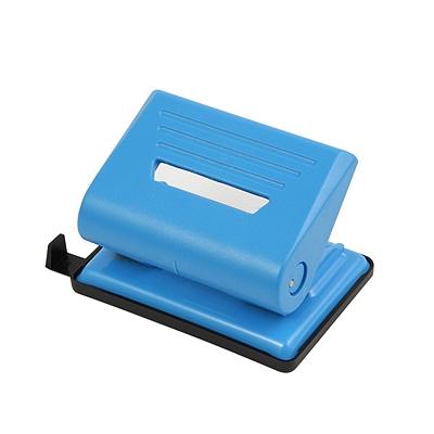 益而高 打孔机(带标尺) (蓝) 2孔/20张  837