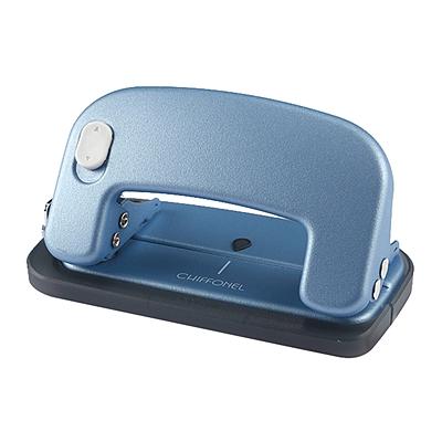 美克司 打孔机(带标尺) (蓝色) 2孔/12张  DP-12