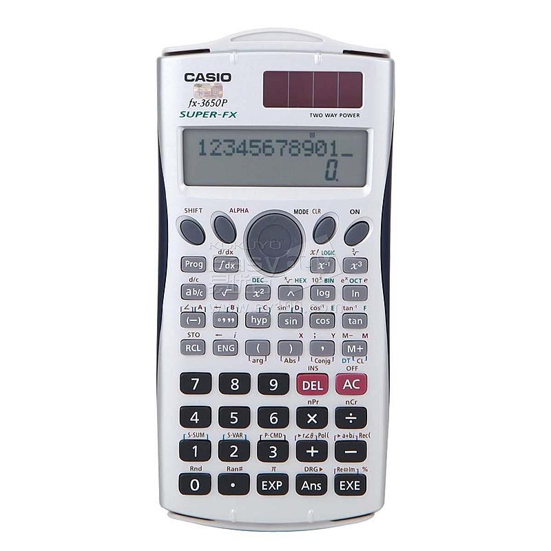 卡西欧 函数计算器  fx-3650P