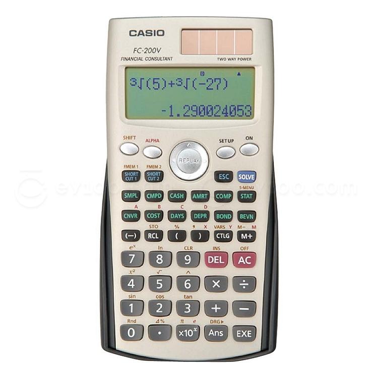 卡西欧 函数计算器  FC-200V