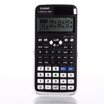 卡西欧 中文版科学函数计算器 (黑色)  FX-991CN