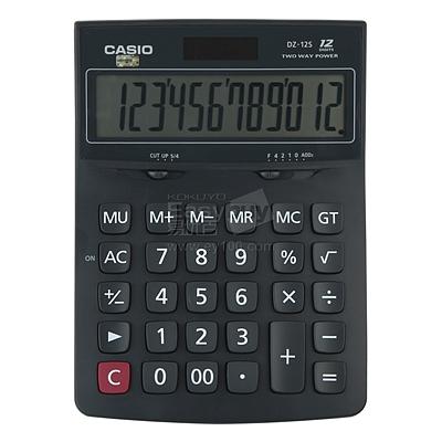 卡西欧 计算器 (黑) 12位 中型  DZ-12S