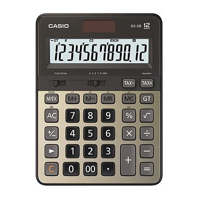 卡西欧 金融计算器 (金色) 12位  DS-2B-GD