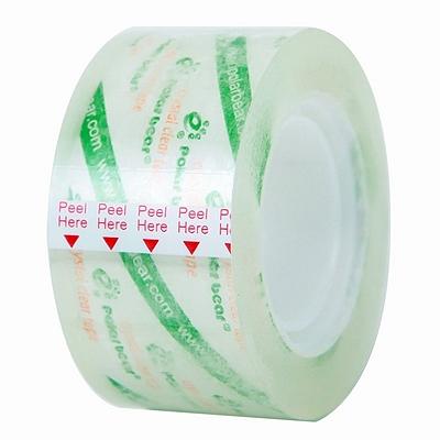 北极熊 超透文具小卷胶带 24mm*22.85m  PP-027