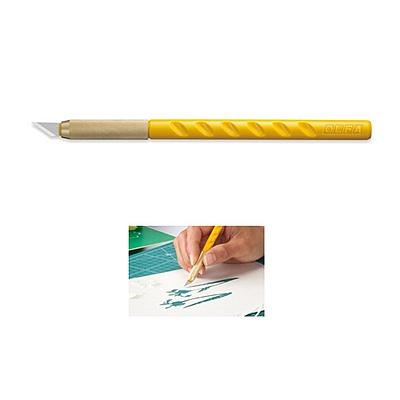 爱利华 细致美工用雕刻刀 (黄) 配5把刀片  AK-1/5B