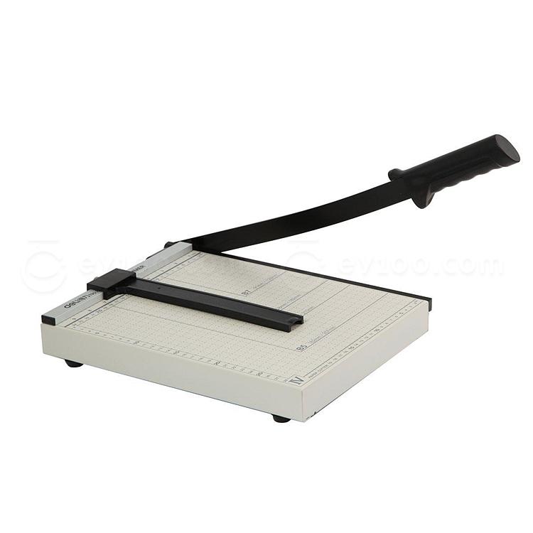 得力 钢质切纸刀 A4  8014