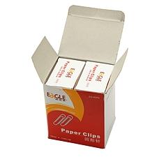 益而高 回形针 (银色) 50mm 100枚/盒  EG-8DPA