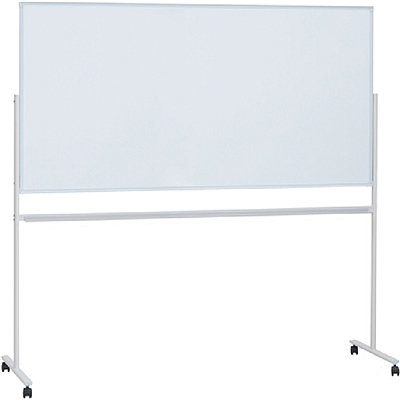 普乐士 单面白板带脚架式(含支架) (白) 1800*900mm/横式  WB-36SSJ