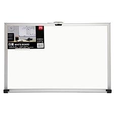 得力 单面白板 (白) 700*500mm/横式  7843