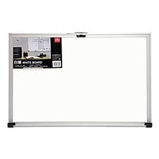 得力 单面白板 (白) 900*600mm/横式  7844