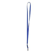 树德 证件卡挂绳 (蓝) 橄榄扣  A1748