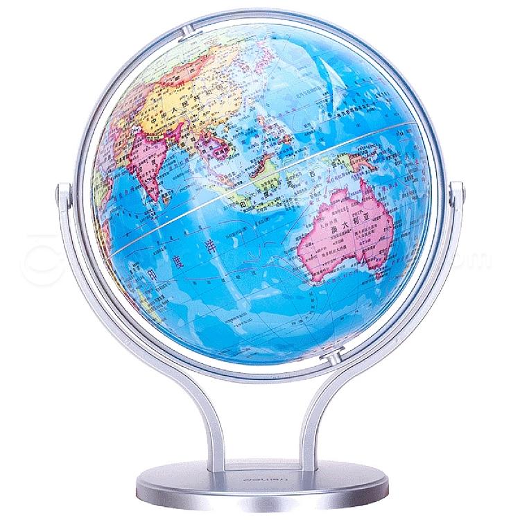 得力 万向地球仪 20cm  2174