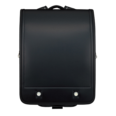 国誉 小学生用硬式双背带书包 (黑)  WSG-SBR01D