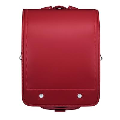 国誉 小学生用硬式双背带书包 (红)  WSG-SBR01R