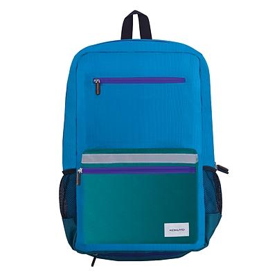 国誉 NOViTA-R2017学生书包(带防雨套) (蓝) 中号(加厚版)  WSG-SBN02B