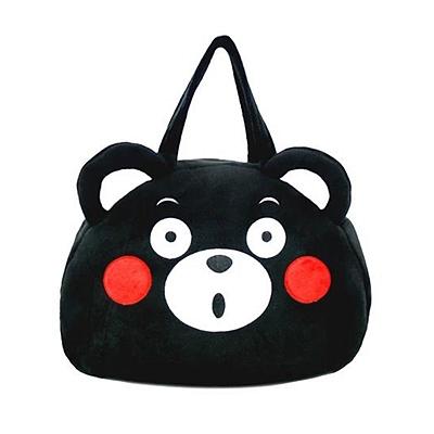 酷MA萌 手拎袋-惊讶款黑色  K11AV0016-1