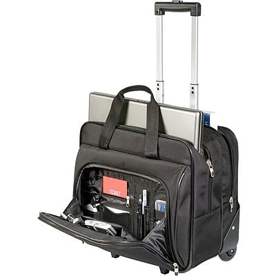 泰格斯 商务登机箱/笔记本电脑拉杆箱 (黑)  TBR003