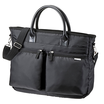 山业 商务电脑包 (黑)  BAG-CA9BK2
