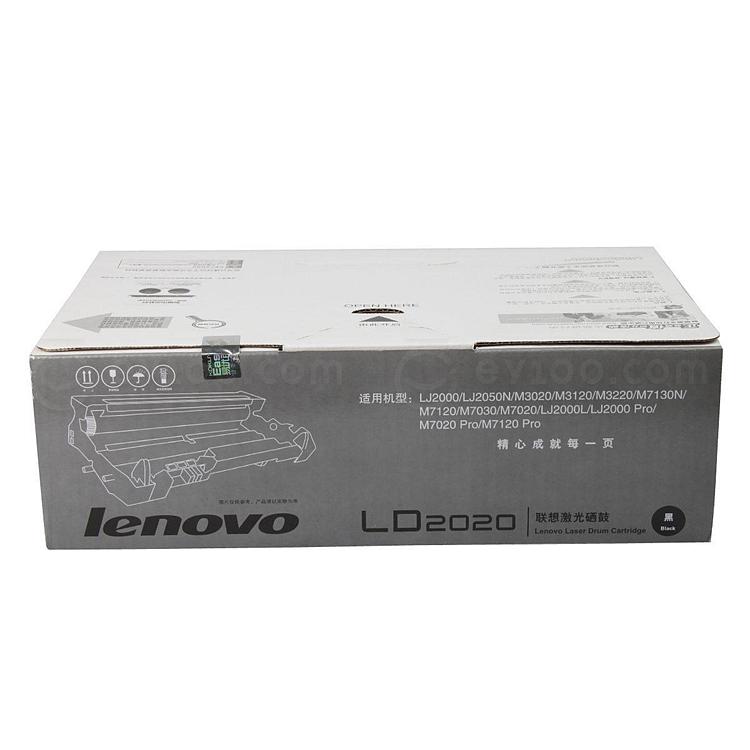 联想 打印机硒鼓 (黑)  LD2020(硒鼓)