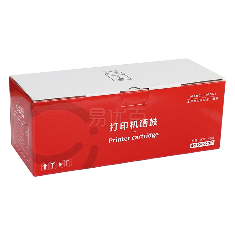 易优百 打印机硒鼓 (黑)  EB-CC388A