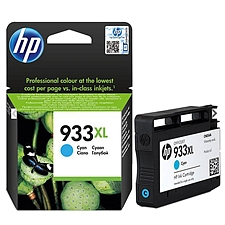 惠普 933XL打印机墨盒 (青)  CN054AA