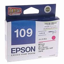 愛普生 打印機墨盒 (洋紅)  T1093