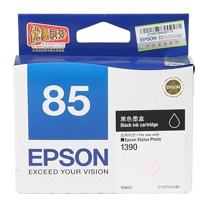 爱普生 打印机墨盒 (黑)  T0851