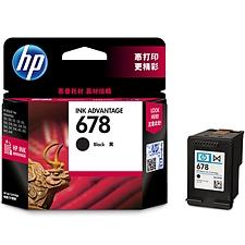 惠普 678型打印机墨盒 (黑)  CZ107AA