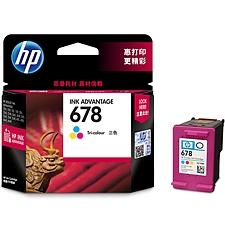 惠普 678型打印机墨盒 (彩色)  CZ108AA